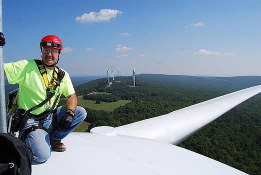 Wind Turbine by Nadeau