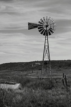 Windmill On The Plains by Jason Drake