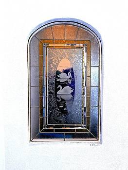 Window Encinitas California by Brian D Meredith