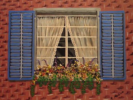 Window Garden by Maria Medina