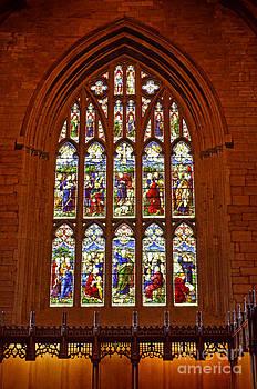 Pravine Chester - Window in Church