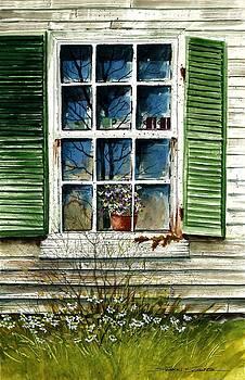 Window Reflections by Steven W Schultz