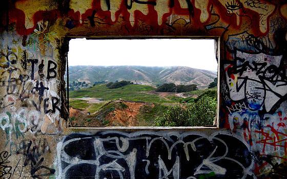 Matt Hanson - Window Through the Paint