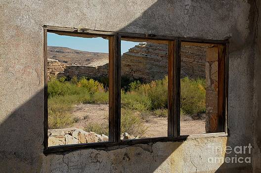 Window to Big Bend by Cliff LeBoeuf