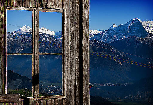 Window to the Mountains by Christoph Mueller