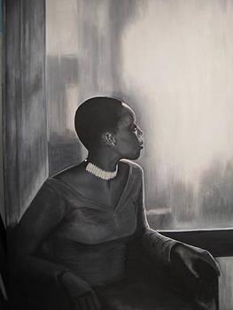 Window Watcher I by Roberta Rainey