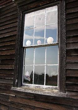 Window with Seashells by J R Baldini M Photog Cr