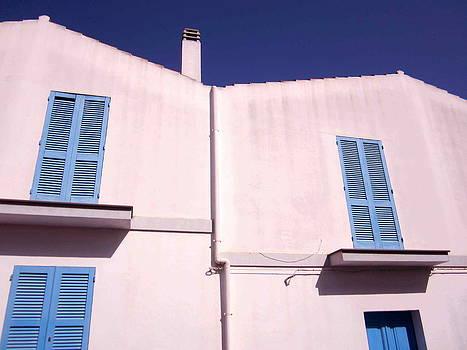 Windows of Calasetta 01 by Len Yurovsky