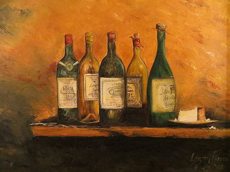 Wine And Cheese  by Lizzy Forrester
