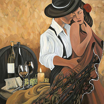 Wine And Romance by Marcy Grosso