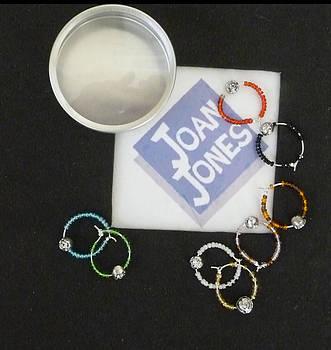 Joan  Jones - Wine glass charms