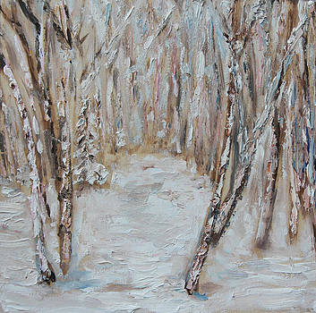 Winter Birch by Linda Woolven