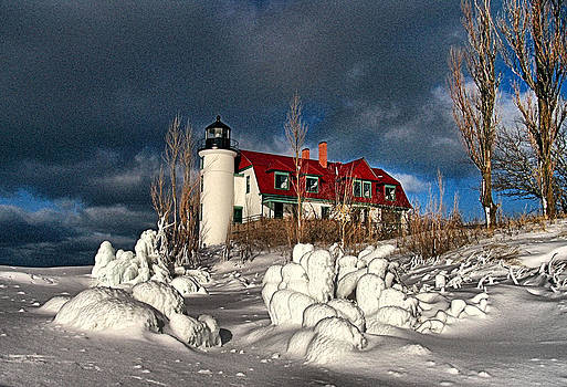 Matthew Winn - Winter Blankets Point Betsie