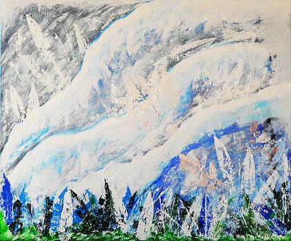 Winter Blues by Saheed Fawehinmi