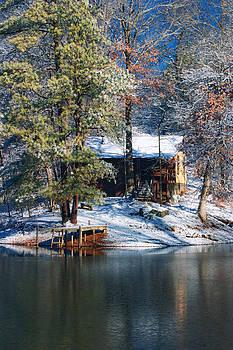 Cris Hayes - Winter Cabin - Only Winter Shot Ever Captured - Artist Cris Hayes