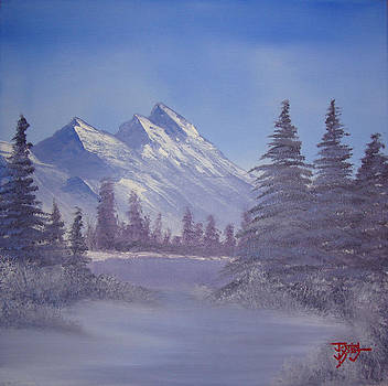 Winter Calm by Justin  Dobbs