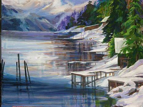 Winter-Garfield Bay by Barbara Field