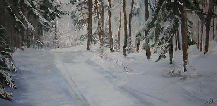 Winter Getaway by Carol  Greensmith