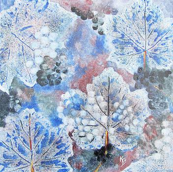 Winter Grapes I by Karen Fleschler