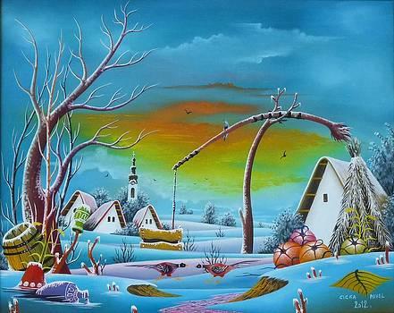 Winter idyll by Pavel Cicka