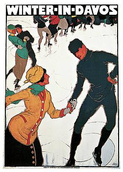 Burkhard Mangold - Winter in Davos