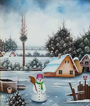 Winter in Padina by Marci Markov