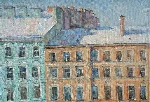 Winter in Saint-Petersburg by Olga Suvorova
