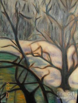 Winter In The Forest by Jenny Goldman
