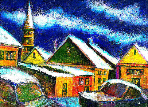 Ion vincent DAnu - Winter in the Old City