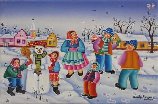 Winter joy by Rozalija Markov