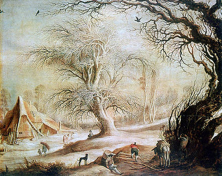 'winter Landscape', 17th Century, Painting by Photos.com