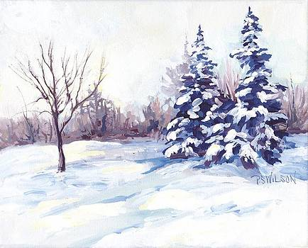 Peggy Wilson - Winter Landscape