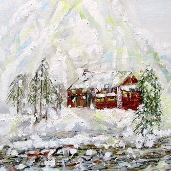 Winter Mountains by Barbara Pearston