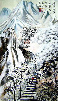 Winter mountains by Lian Zhen