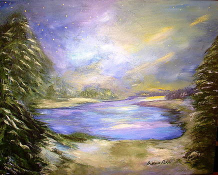 Winter Nights and Northern Lights by Barbara Pirkle