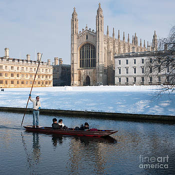 Winter punting by Andrew  Michael