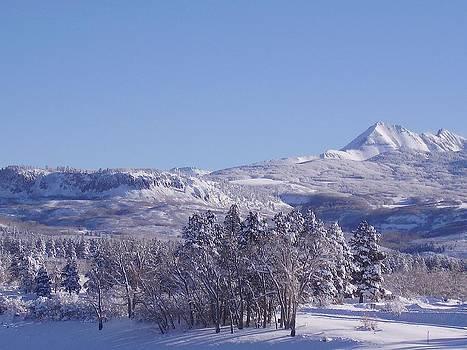 Winter Slopes Above Jackson Lake by FeVa  Fotos
