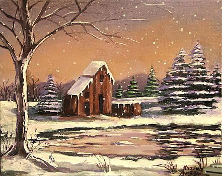 Winter Snow  by Khatuna Buzzell