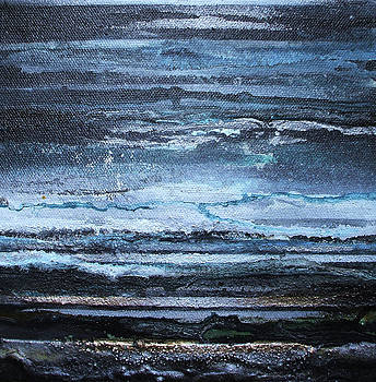 Winter Storms and Moonlight no1 by Mike   Bell
