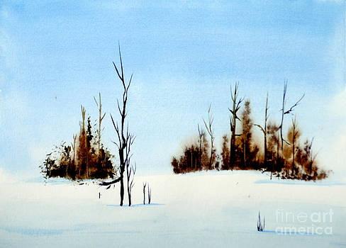 Winter Study by Art Hill Studios