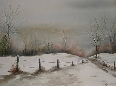 Winter Walk by Wendy Cunico