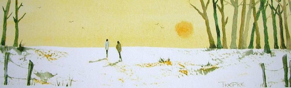 Winter warmth by Trudy Kepke