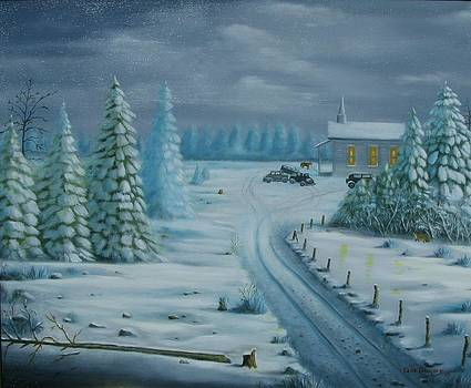 Winter Worship  by Gene Gregory