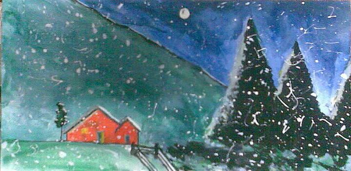 Wintry Storm by Lalhmunlien Varte