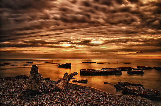 Wisconsin Sunrise by Todd Heckert