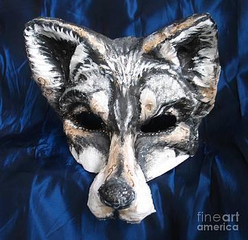 Wolf Fairytale Mask by Julia Cellini Cellini