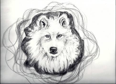 Wolf Totem by Carol Allen Anfinsen