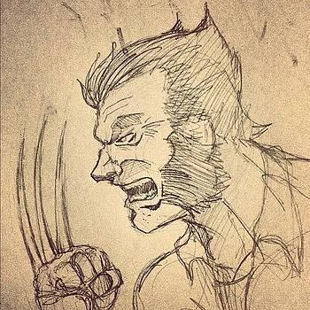 Wolverine Sketch #wolverine #sketch by Rocky Martinez