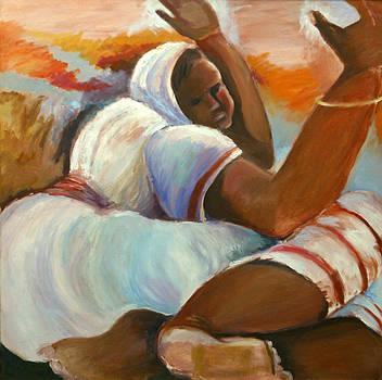 Woman Beseeching by Bettye  Harwell