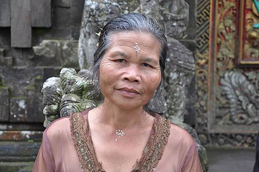 Woman in Bali by Kamel Rekouane